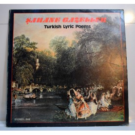 ŞAHANE GAZELLER LP - TURKISH LYRİC POEMS LP