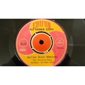 ALİ EKBER ÇİÇEK - Ali'nin İkinci Mektubu / Bağışla Geç Günahımdan - RAF 02911