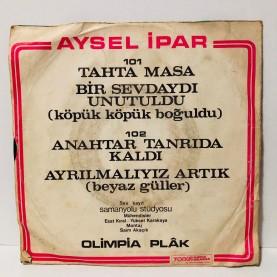 AYSEL İPAR - AYRILMALIYIZ ARTIK - ANAHTAR TANRIDA KALDI 45 LİK PLAK