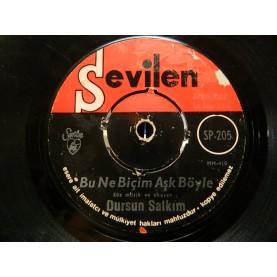 DURSUN SALKIM - Belki Yıllar Sonra / Bu Ne Biçim Aşk Böyle 02548