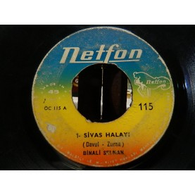BİNALİ SELMAN - Sivas Halayı / Sivas Tamzarası Sarma 02603