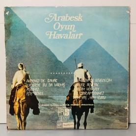 AHMAD DJAMAL VE BÜYÜK ARABESK ORKESTRASI - MODERN OYUN HAVALARI LP