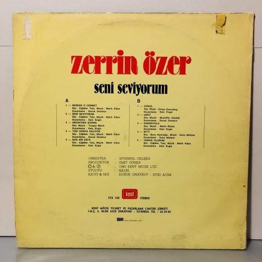 ZERRİN ÖZER - SENİ SEVİYORUM LP