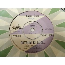 YAŞAR ÖZEL -Duydum Ki Güzel / Hatıra  0843