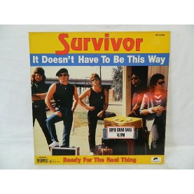 SURVİVOR -  It Doesn't Have To Be This Way MAXİ 45 LİK 02233